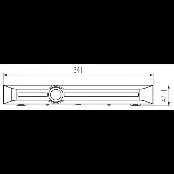 TC-R3210 Spec I F H.265 2HDD 10ch Face Recognition NVR-4 (Unit: mm)