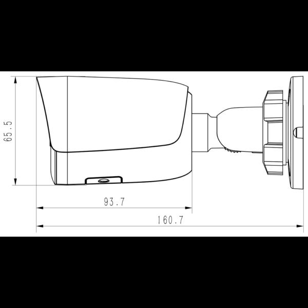 Tiandy TC-C32WN Spec I5 E Y M 2.8mm/4mm – Dimensions