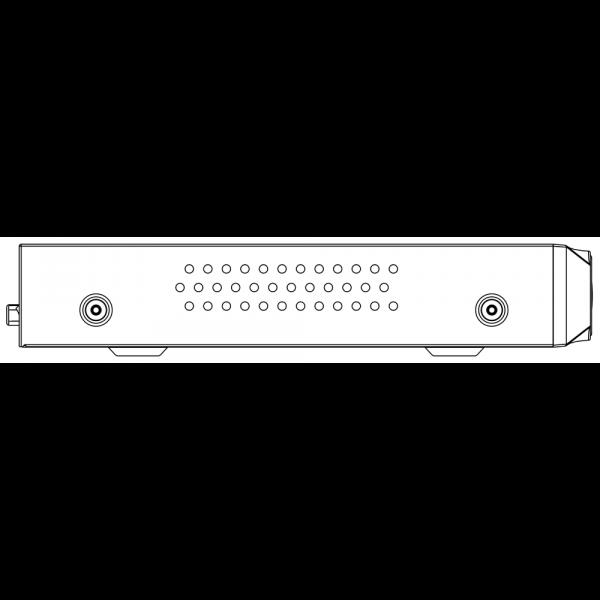 Tiandy TC-R3105 Spec- I B P H.265 1HDD 5ch PSE NVR-4 (Unit:mm)
