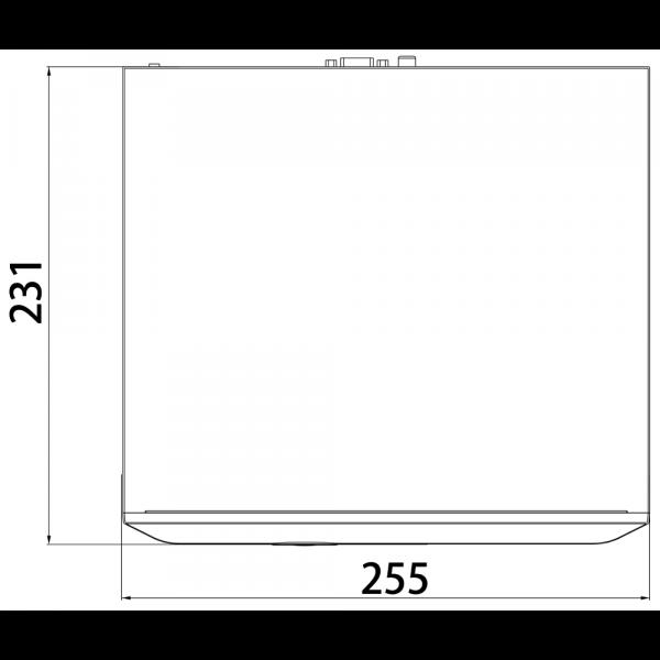 Tiandy TC-R3105 Spec- I B P H.265 1HDD 5ch PSE NVR-5 (Unit:mm)