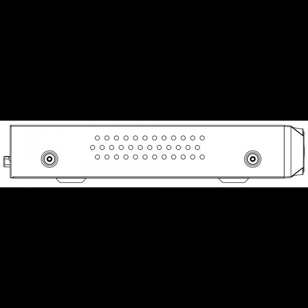 Tiandy TC-R3110 Spec I B P 8 K H.265 1HDD 10ch PSE NVR – 5 (Unit: mm)