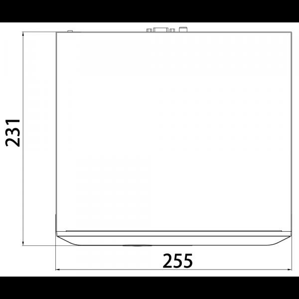 Tiandy TC-R3120 Spec- I B P 8 K H.265 1HDD 20ch PSE NVR – 2