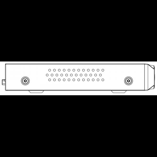 Tiandy TC-R3120 Spec- I B P 8 K H.265 1HDD 20ch PSE NVR – 4 (Unit: mm)