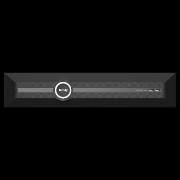Tiandy TC-R3840 Spec- I B N H.265 8HDD 40ch NVR- Front View