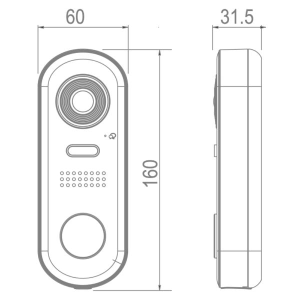 Intelicom_IX610 Dimensions