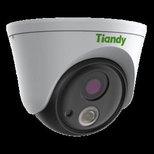 TC-C32FP Spec- W E Y 2.8mm Tiandy 2MP Fixed Color Maker Turret CCTV Camera - Left Right View1
