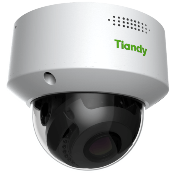 TC-C32MN Spec I3 A E Y M 2.8-12mm Tiandy 2MP Motorized IR Dome Camera – Right Side View