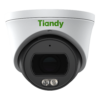 TC-C34SP Spec W E Y M 2.8mm Tiandy 4MP Fixed Color Maker Turret CCTV Camera - Front View