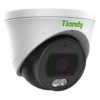 TC-C34SP Spec W E Y M 2.8mm Tiandy 4MP Fixed Color Maker Turret CCTV Camera - Right Side View