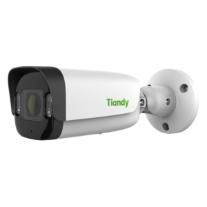 TC-C34UP Spec W E Y M 4mm Tiandy 4MP Fixed Color Maker Bullet Camera - Front View(1)