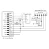 XK2 Wiring Diagram as 1Door Access Controller