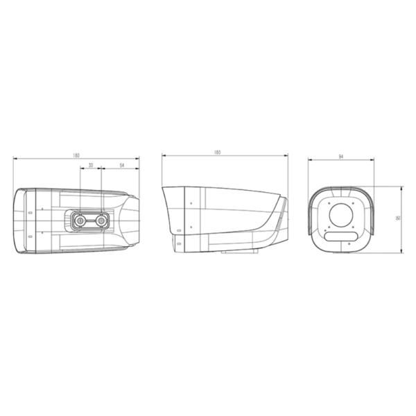 Tiandy TC- A32E2 Spec- 2-E-12mm – Dimension