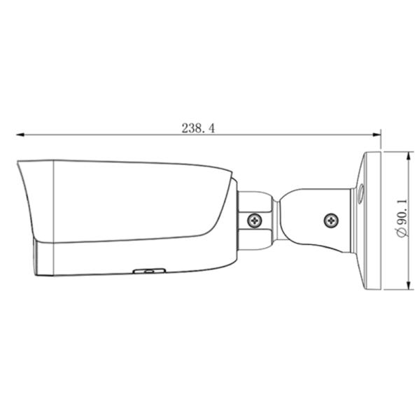 Tiandy TC-C32UP spec-w-e-y-m-h-4mm Dimension