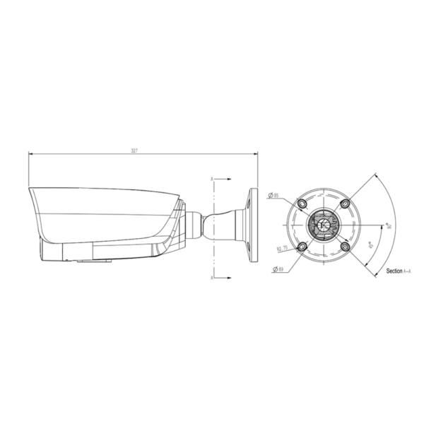 Tiandy TC-C34LP Spec-I5-E-T-4mm – Dimension