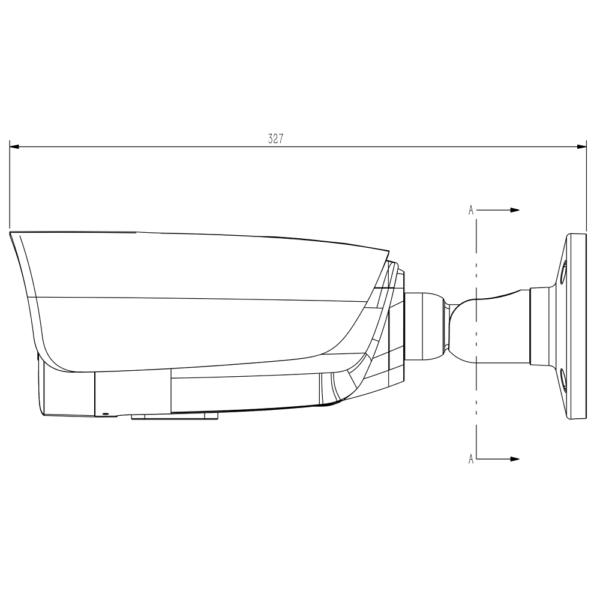 Tiandy TC-C34LP Spec-I8-A-E-Y-M-H-2.7-13.5mm – Dimensions