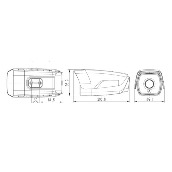 Tiandy TC-C35BQ Spec -I5-W-E-4mm 5mp – Dimension