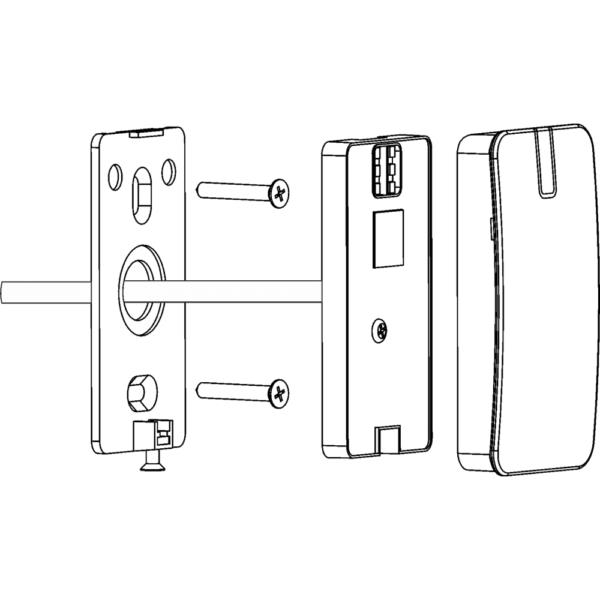 U-Prox Mini MF Mounting Drawing