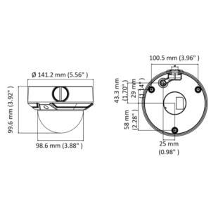 HiLook-IPC-D640H-Z-2.8-12mm-Dimension
