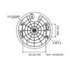 PTZ-N2404I-DE3 (C) HiLook 4MP 4X IP PTZ Camera - Mounting Dimensions