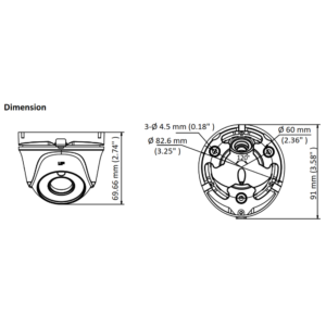 THC-T140-M - Dimensions