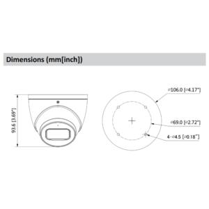 DH-IPC-HDW3441EMP-AS Dahua