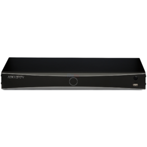 DS-7608NXI-I2/8P/4S-3T Hikvision 8CH NVR Acusense - Front View-3